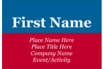 Add patriotic style to your project with pre-designed Election Blue Red templates.