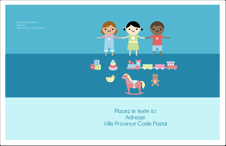 """1½"""" x 4"""" Étiquettes d'adresse - Éducation et préscolaire"""