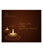 Add a peaceful tone to custom projects with pre-designed Diwali Lights templates.