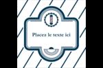 Enseigne de barbier Étiquettes enveloppantes - gabarit prédéfini. <br/>Utilisez notre logiciel Avery Design & Print Online pour personnaliser facilement la conception.