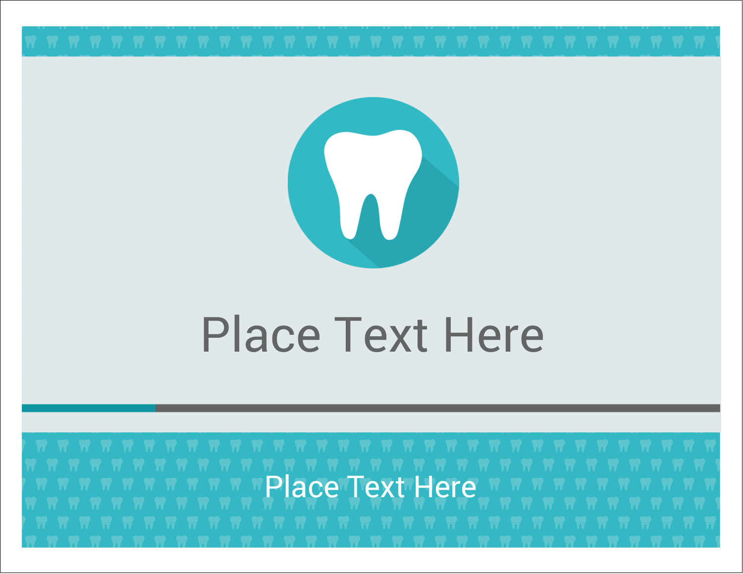 """5½"""" x 4¼"""" Note Card - Dentist Tooth"""