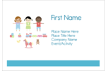 Add youthful charm to custom projects with pre-designed Babysitting Education templates.