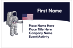 Successfully land your custom project with printable pre-designed Astronaut templates.