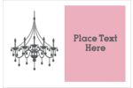 Infuse elegance and grace into custom projects with pre-designed Chandelier templates.