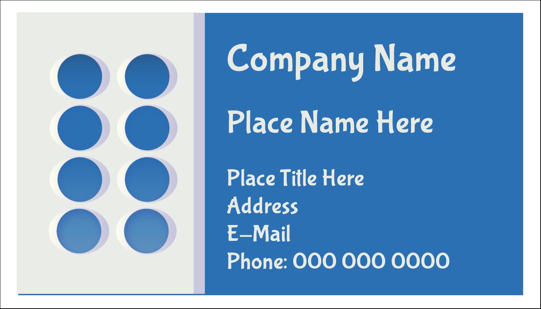 """2"""" x 3½"""" Business Card - 4th Floor"""