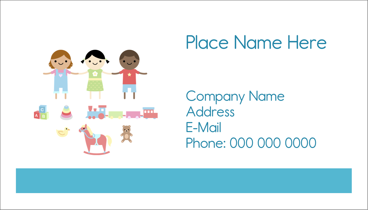 "2"" x 3½"" Business Card - Babysitting Education"