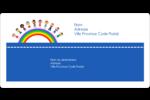 Éducation des enfants Étiquettes de classement écologiques - gabarit prédéfini. <br/>Utilisez notre logiciel Avery Design & Print Online pour personnaliser facilement la conception.