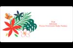 Plantes tropicales Étiquettes de classement écologiques - gabarit prédéfini. <br/>Utilisez notre logiciel Avery Design & Print Online pour personnaliser facilement la conception.