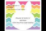 Lapin Bonbon Étiquettes D'Adresse - gabarit prédéfini. <br/>Utilisez notre logiciel Avery Design & Print Online pour personnaliser facilement la conception.