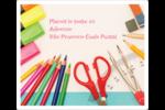 Enseignement primaire Étiquettes D'Adresse - gabarit prédéfini. <br/>Utilisez notre logiciel Avery Design & Print Online pour personnaliser facilement la conception.