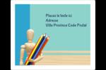 Enseignement des arts Étiquettes D'Adresse - gabarit prédéfini. <br/>Utilisez notre logiciel Avery Design & Print Online pour personnaliser facilement la conception.