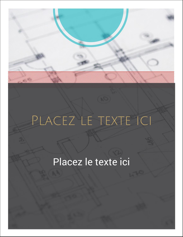 """1¾"""" x ½"""" Étiquettes D'Adresse - Architecture"""