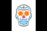 Le jour du Crâne Cartes Et Articles D'Artisanat Imprimables - gabarit prédéfini. <br/>Utilisez notre logiciel Avery Design & Print Online pour personnaliser facilement la conception.