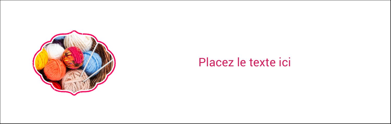 """4¼"""" x 5½"""" Carte de note - Tricot"""