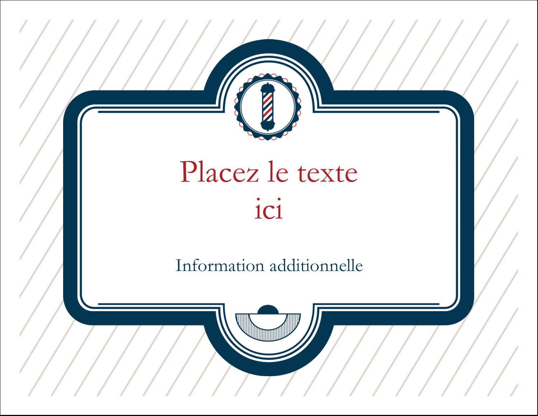"""8½"""" x 11"""" Cartes Et Articles D'Artisanat Imprimables - Enseigne de barbier"""