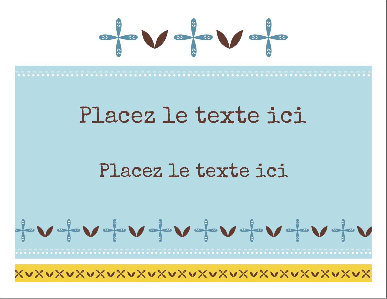 """8½"""" x 11"""" Cartes Et Articles D'Artisanat Imprimables - Bain bleu"""