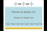 Bain bleu Cartes Et Articles D'Artisanat Imprimables - gabarit prédéfini. <br/>Utilisez notre logiciel Avery Design & Print Online pour personnaliser facilement la conception.