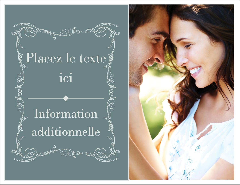 """8½"""" x 11"""" Cartes Et Articles D'Artisanat Imprimables - Cachet français"""