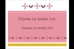 Fleurs roses géométriques Cartes Et Articles D'Artisanat Imprimables - gabarit prédéfini. <br/>Utilisez notre logiciel Avery Design & Print Online pour personnaliser facilement la conception.