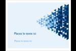 Angles bleus  Cartes Et Articles D'Artisanat Imprimables - gabarit prédéfini. <br/>Utilisez notre logiciel Avery Design & Print Online pour personnaliser facilement la conception.