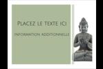Bouddha Cartes Et Articles D'Artisanat Imprimables - gabarit prédéfini. <br/>Utilisez notre logiciel Avery Design & Print Online pour personnaliser facilement la conception.
