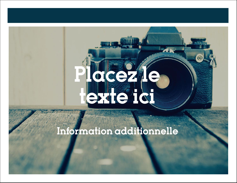"""8½"""" x 11"""" Cartes Et Articles D'Artisanat Imprimables - Appareil photo"""