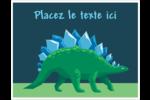 Dinosaure Cartes Et Articles D'Artisanat Imprimables - gabarit prédéfini. <br/>Utilisez notre logiciel Avery Design & Print Online pour personnaliser facilement la conception.
