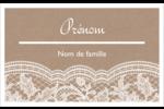 Dentelle de jute Étiquettes badges autocollants - gabarit prédéfini. <br/>Utilisez notre logiciel Avery Design & Print Online pour personnaliser facilement la conception.