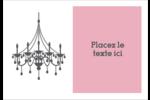 Chandelier Étiquettes à codage couleur - gabarit prédéfini. <br/>Utilisez notre logiciel Avery Design & Print Online pour personnaliser facilement la conception.