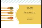 Cuillères Étiquettes à codage couleur - gabarit prédéfini. <br/>Utilisez notre logiciel Avery Design & Print Online pour personnaliser facilement la conception.