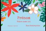 Plantes tropicales Étiquettes à codage couleur - gabarit prédéfini. <br/>Utilisez notre logiciel Avery Design & Print Online pour personnaliser facilement la conception.