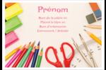 Enseignement primaire Étiquettes à codage couleur - gabarit prédéfini. <br/>Utilisez notre logiciel Avery Design & Print Online pour personnaliser facilement la conception.