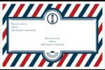 Enseigne de barbier audacieuse Étiquettes d'expédition - gabarit prédéfini. <br/>Utilisez notre logiciel Avery Design & Print Online pour personnaliser facilement la conception.