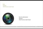 Objectif Étiquettes d'adresse - gabarit prédéfini. <br/>Utilisez notre logiciel Avery Design & Print Online pour personnaliser facilement la conception.