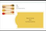 Cuillères Étiquettes d'adresse - gabarit prédéfini. <br/>Utilisez notre logiciel Avery Design & Print Online pour personnaliser facilement la conception.