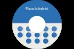 4e étage  Étiquettes de classement - gabarit prédéfini. <br/>Utilisez notre logiciel Avery Design & Print Online pour personnaliser facilement la conception.