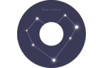 Étoiles d'anniversaire Étiquettes de classement - gabarit prédéfini. <br/>Utilisez notre logiciel Avery Design & Print Online pour personnaliser facilement la conception.