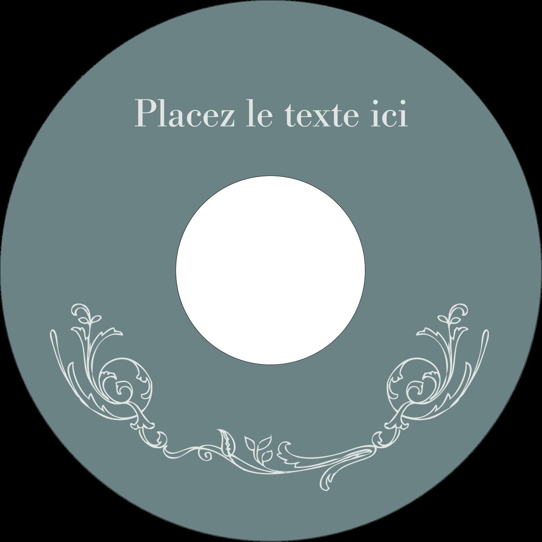 """⅔"""" x 3-7/16"""" Étiquettes de classement - Cachet français"""