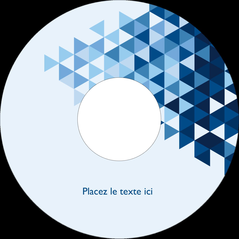 """⅔"""" x 3-7/16"""" Étiquettes de classement - Angles bleus"""