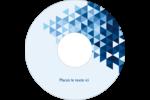 Angles bleus  Étiquettes de classement - gabarit prédéfini. <br/>Utilisez notre logiciel Avery Design & Print Online pour personnaliser facilement la conception.