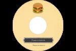 Hamburger Étiquettes de classement - gabarit prédéfini. <br/>Utilisez notre logiciel Avery Design & Print Online pour personnaliser facilement la conception.