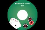 Partie de poker Étiquettes de classement - gabarit prédéfini. <br/>Utilisez notre logiciel Avery Design & Print Online pour personnaliser facilement la conception.