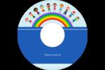 Éducation des enfants Étiquettes de classement - gabarit prédéfini. <br/>Utilisez notre logiciel Avery Design & Print Online pour personnaliser facilement la conception.
