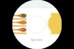 Cuillères Étiquettes de classement - gabarit prédéfini. <br/>Utilisez notre logiciel Avery Design & Print Online pour personnaliser facilement la conception.