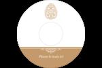 Œuf de Pâques de couleur bronze Étiquettes de classement - gabarit prédéfini. <br/>Utilisez notre logiciel Avery Design & Print Online pour personnaliser facilement la conception.