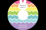 Lapin Bonbon Étiquettes de classement - gabarit prédéfini. <br/>Utilisez notre logiciel Avery Design & Print Online pour personnaliser facilement la conception.