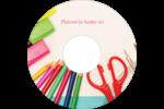 Enseignement primaire Étiquettes de classement - gabarit prédéfini. <br/>Utilisez notre logiciel Avery Design & Print Online pour personnaliser facilement la conception.