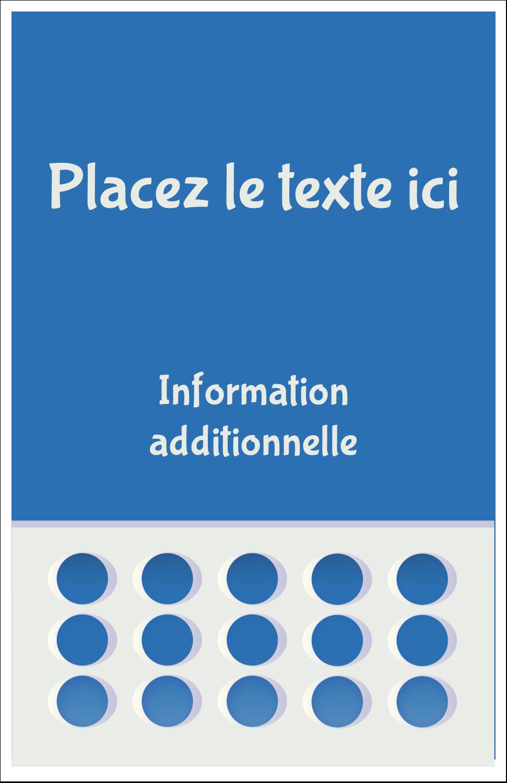 """8½"""" x 11"""" Binder Insert Reliures - 4e étage"""