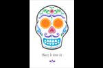 Le jour du Crâne Reliures - gabarit prédéfini. <br/>Utilisez notre logiciel Avery Design & Print Online pour personnaliser facilement la conception.