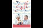 Anniversaire « Still Do » Reliures - gabarit prédéfini. <br/>Utilisez notre logiciel Avery Design & Print Online pour personnaliser facilement la conception.